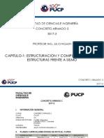Capitulo-1 Estructuración y Comportamiento de Estructuras Frente a Sismo