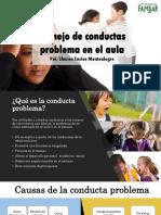 Cómo manejar la conducta problema en la escuela