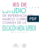 Curriculum de Educacion Media Superior