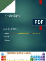 Kristalisasi