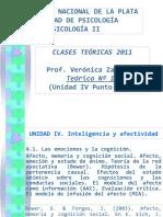 Teórico Nº 19 Afecto Memoria y Cognición