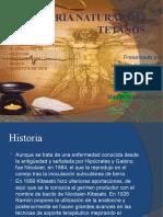 Historia Natural Del Tetanos