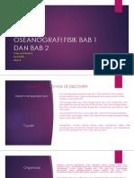 Oseanografi Fisik Bab 1 Dan Bab 2