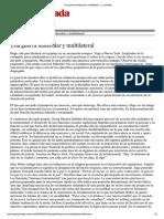 Una Guerra Molecular y Multilateral - La Jornada