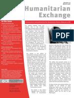Humanitarian Exchange 037