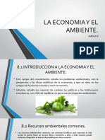 La Economia y El Ambiente