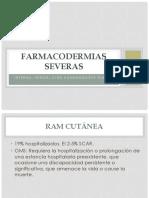 FARMACODERMIAS SEVERAS - HCHT