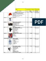 Pakaian Kerja Safety Katalog Nasional 2017