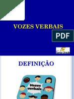 Slide Vozes Verbais - Passividade
