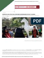Www.ahoranoticias.cl Noticias Nacional 198766 Ranking Qs 2018 Estas Son Las Mejores Universidades de Chile y El Mundo