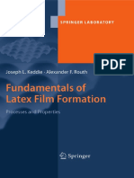 [Joseph Keddie, Alexander F. Routh] Fundamentals of Latex Film Formation