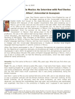 Wilson 2015 50 Years of TESOL in Mexico - An Interview With Paul Davies