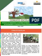 Cuaderno Pedagógico Conuco Escolar - Primera Versión 11-05-2017