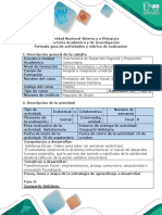 Guía de Actividades y Rúbrica Cualitativa de Evaluación - Fase 3 - e - Interacción Social