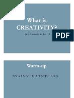 Creativity Graham Wallas