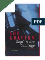 [Grafton Sue] Kopf in Der Schlinge