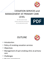 Smoking Cessation Services at Primary Care Level