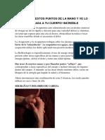 Reflexología y Acupuntura
