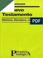 Theissen, Gerd. El Nuevo Testamento. Historia, Literatura, Religión.