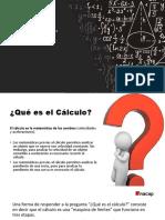 Cálculo - Clase 1