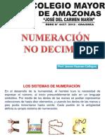 Numeración No Decimal
