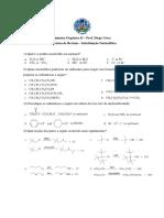 Exercícios_SN Substituilção Nucleofílica