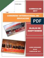 Congreso Internacional de Educacion 2017 Uatx