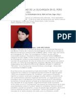 La Continuidad de La Oligarquía en El Perú Actual