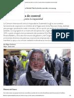 Guatemala Fuera de Control _ La CICIG y La Lucha Contra La Impunidad _ Nueva Sociedad