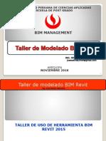 Taller 01 Modelado Bim Revit 2016
