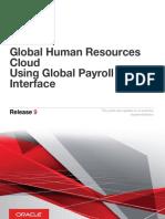 Using Global Payroll Interface
