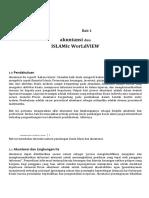 Bab 1 Akuntansi Dan Islamic World View