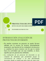 Proyectos de Inversión Tarea 1
