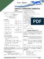 Algebra - 1 Tema Pre - Infotec