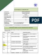 Plan de Trabajo 2do Semestre 2017 (Azf. Constitucional II)