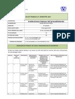 Plan de Trabajo Ibp, 2017