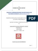 Finanical Comparison Project