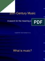 20th Century Music.ppt
