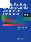 Sam Dagogo-Jack Eds. Diabetes Mellitus in Developing Countries and Underserved Communities