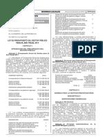 LEY DE PRESUPUESTO DEL SECTOR PÚBLICO Ley30518.pdf