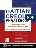 Jowel C. Laguerre Ph.D., Cecile Accilien Ph.D. Haitian Creole Phrasebook Essential Expressions for Communicating in Haiti 0