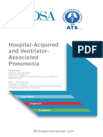HAP & VAP IDSA Pocketcard Guidelines (2016)