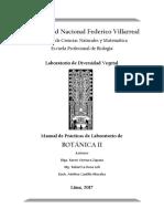 Manual de Prácticas de Botánica II 2017