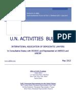 IADL-UNActivitiesBulletin-May2013