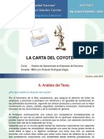 Carta Del Coyote
