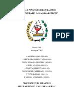 Kelompok 7 - 1B - Makalah - Singkatan Latin