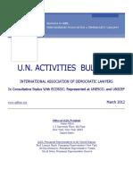 IADL Bulletin March 2012