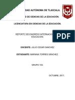 Congreso Internacional de Educación Currículum 2017