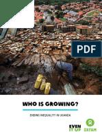 OXFAM - Uganda Inequality Report