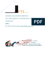 FTL EXPORTERS & BUYING OFFICE